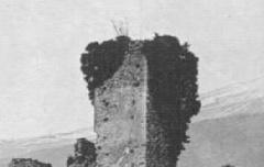 Argelès-Gazost : Château de Beaucens – carte postale - Médiathèque André Labarrère Pau – cote B6-008