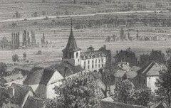 Vue générale d'Argelez - Ciceri, Eugène – s. d. - lithographie - Médiathèque André Labarrère Pau – cote Ee3212