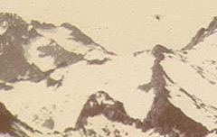 Balaïtous (3146 m.) et Palas (2975 m.) vus de Las Tourettes - Ledormeur, Georges - Don de M. Laurent Duchemin – 1922-1963 – photographie – Centre d'étude du Protestantisme Béarnais – cote 60 J 239/6