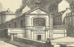 Thermes de Barèges - Kerviler, P. / Frick Frères / Cazaux - lithographie - Médiathèque André Labarrère Pau – cote 37553R