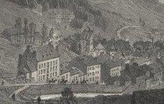 Les Pyrénées : Vue de Barèges - Hautes Pyrénées - CICERI, Eugène / Lafont / Becquet - lithographie - Médiathèque André Labarrère Pau – cote Ee3212