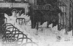 Hautes-Pyrénées - Cauterets, Vue Intérieure du Continental Hôtel - carte postale - Médiathèque André Labarrère Pau – cote B6-029