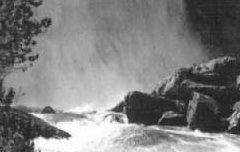 Cauterets - Hautes-Pyrénées - La cascade du Pont d'Espagne – Jové – avant 1907 – carte postale - Médiathèque André Labarrère Pau – cote B6-045