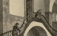 Cauterets : Intérieur des Thermes - ARNOUT, Jules / DEROY, Isidore-Laurent / Lemercier, Bernard et Cie – s. d. - lithographie - Médiathèque André Labarrère Pau – cote 240427