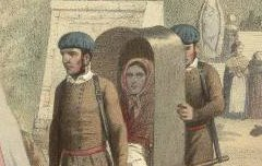 Cauterets : Bains de la Raillière - Maurice, C. / Becquet frères / F. Sinnett – 19e siècle – lithographie - Médiathèque André Labarrère Pau – cote Ee3208-2