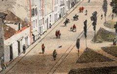 Eaux-Bonnes - Lalanne / Jean-Marie Dufour – 19e siècle – lithographie - Médiathèque André Labarrère Pau – cote 240150