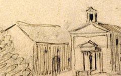 Eaux-Chaudes - LE COEUR, Charles Clément (dessinateur) – 1843 – dessin à la mine de plomb, encre et plume - Musée des Beaux-Arts Pau – cote 2007.0.49