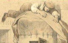 Eaux-Chaudes : Arrivée d'une diligence - Montaut, Henry de / Bargue, Ch. / Becquet frères / F. Sinnett - 19e siècle – lithographie - Médiathèque André Labarrère Pau – cote 37413R