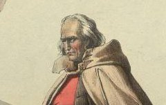 Pyrénées : Riche pasteur et jeune fille aux Eaux-Chaudes - Pingret, Edouard – 1834 - lithographie - Médiathèque André Labarrère Pau – cote Ee3200