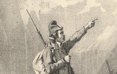 Chasseurs de Gavarnie : Hautes Pyrénées - Bernard / Gihaut frères – 1836 – lithographie - Médiathèque André Labarrère Pau - cote C39621