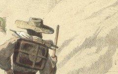 Bagnères de Bigorre : Touristes au Lac Bleu - Montaut, Henry de / Bargue, Ch. / F. Sinnett - 19e siècle – lithographie - Médiathèque André Labarrère Pau – cote 37413R