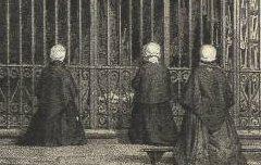Grotte de Lourdes - Asselineau / Cazaux / Frick frères – 19e siècle – lithographie - Médiathèque André Labarrère Pau – cote 37553R