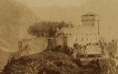 Lourdes : Vue générale – vers 1870 – photographie - Médiathèque André Labarrère Pau – cote PHA131