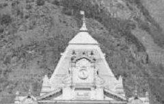Luchon - le pavillon central du casino – avant 1910 – carte postale - Médiathèque André Labarrère Pau – cote B6-238