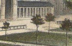 Vue générale de Bagnères-de-Luchon (Haute-Garonne) - GORSE, Pierre / Lafon / Becquet frères – 19e siècle – lithographie - Médiathèque André Labarrère Pau – cote 45896