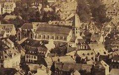 Vue générale de Luchon - Maxwell-Lyte, Farnham – 19e siècle – photographie - Médiathèque André Labarrère Pau – cote PHA148