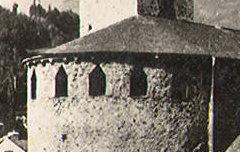 Luz : Eglise des Templiers – 19e siècle – photographie - Centre d'étude du Protestantisme Béarnais – cote 60J239