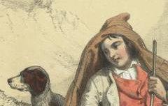 Hautes Pyrénées : Pâtre de St Sauveur - Ferogio, Fortuné / Bry, Auguste / Gihaut frères – 19e siècle - lithographie - Médiathèque André Labarrère Pau – cote 39032R