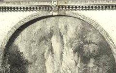 Les Pyrénées Monumentales et Pittoresques : Pont Napoléon - A St Sauveur - Gorse / Becquet / Lafon - 19e siècle - lithographie - Médiathèque André Labarrère Pau – cote Ee3211