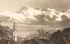Pau : Le Pic du Midi de Bigorre vu du Parc Beaumont - Labouche Frères (éd. Toulouse) – carte postale - Médiathèque André Labarrère Pau – cote 1-091-4