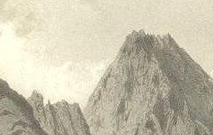 Les Pyrénées : Pic du Midi de Bigorre - 2876 m. - Pris au dessus des cabanes de Tremes-Aïgues – Ciceri, Eugène / Becquet / Lafont / Goupil & Cie – s. d. - lithographie - Médiathèque André Labarrère Pau – cote Ee3211