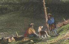 Pic du Midi d'Ossau = Pic du Midi d'Ossau = Der Pic du Midi d'Ossau - ALLOM, Thomas / Radclyffe E. / Fisher Son & Co - 19e siècle – lithographie - Médiathèque André Labarrère Pau – cote 45732R