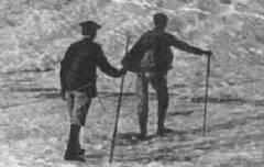 Ascension du Vignemale - Glacier et Serracs du Mont Ferrat - Bloc Frères, éditeurs (Bordeaux) - carte postale - Médiathèque André Labarrère Pau – cote – B6-232